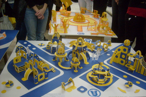 Детская площадка макет